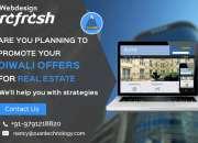 Reg: Diwali offer for Website Design for Real Estate.