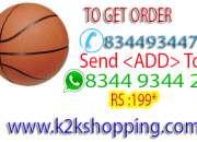 BASKET BALL Combo Basket ball 7 no with free one pc Nivia - Jh-L004 Basketball Net-50Cm (