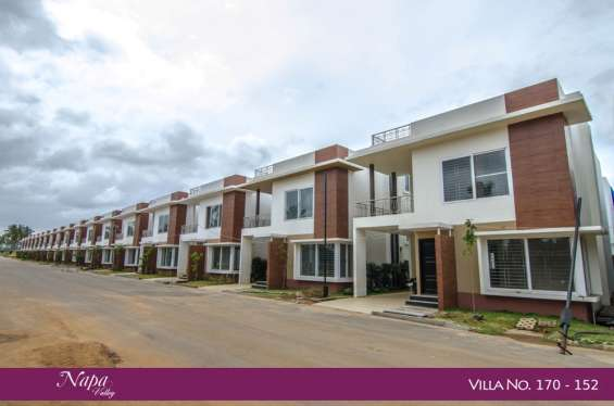 Beautiful 3 bhk and villas in a gated community