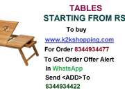 Table, ltipurpose Foldable Wooden Laptop Table Cum Study Table, Multipurpose Foldable Wood