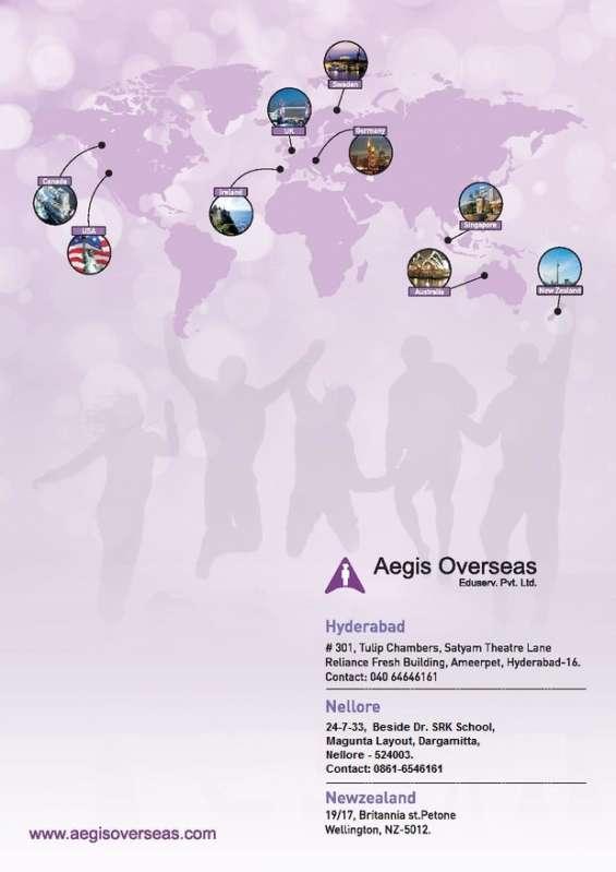 Aegis overseas no 1 overseas education consultants hyderabad, nellore