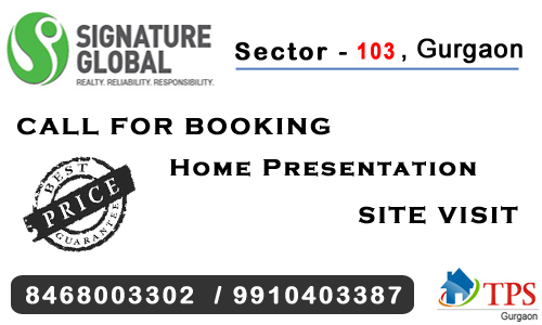 Signature global grand iva sector 103 @ 8468003302