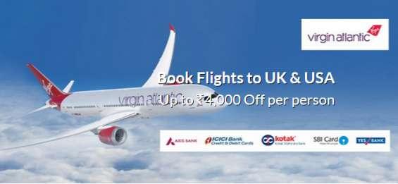Airfare deals on virgin atlantic