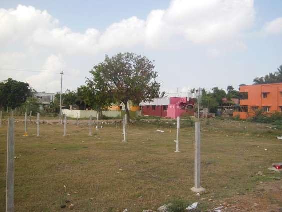 Approved plots for sale in thiru nagar at avadi