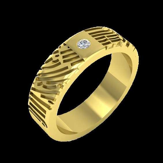 Unique fingerprint ring