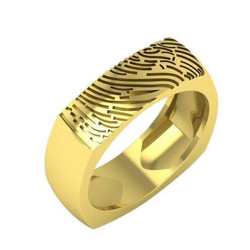 Fingerprint rings india