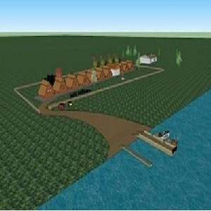 We sell investment company with 736 ha for tourism, aquaculture in the danube delta