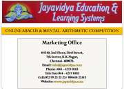 ONLINE ABACUS & MENTAL  ARITHMETIC COMPETITION