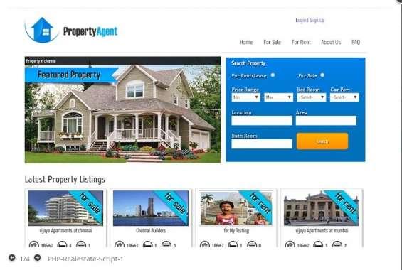 Real estate script live demo