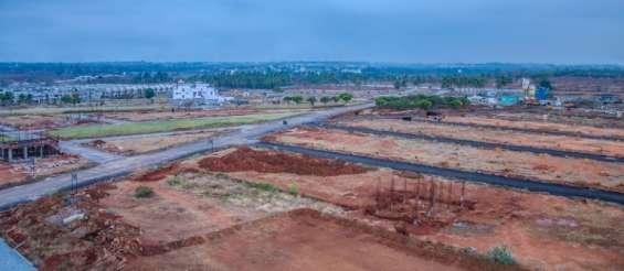 Villa plots of 1200 sft in kanakapura road for sale by concorde