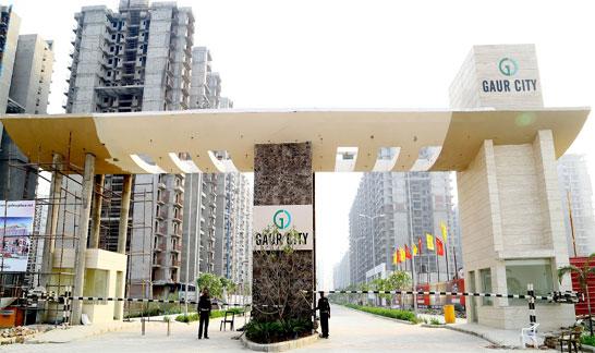 Apartments at rs. 3750 per sq ft gaur city 1 avenue