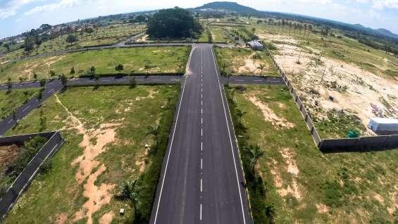 120 acre gated lyt near devnahalli, airport