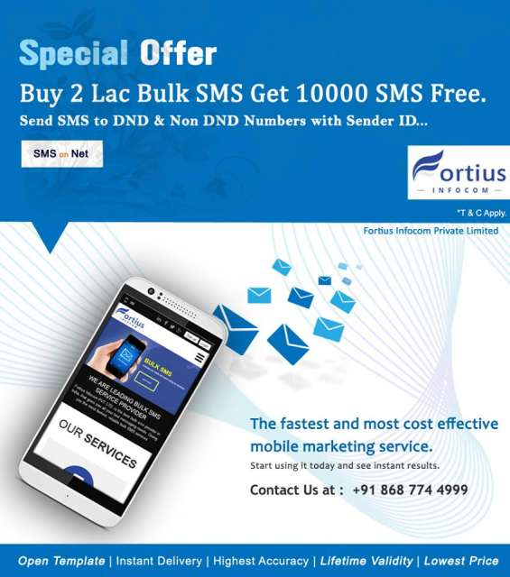 Voice call bulk sms service in Lucknow - Others | 1274966