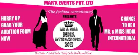 Mr & miss india international 2015