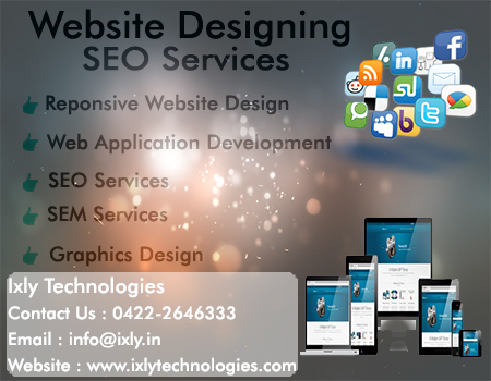 Website design and seo services coimbatore