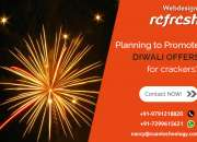 Reg: Grand Diwali offer for Website design - CRACKERS