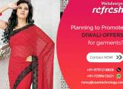 Reg: Grand Diwali offer for Website design - GARMENTS
