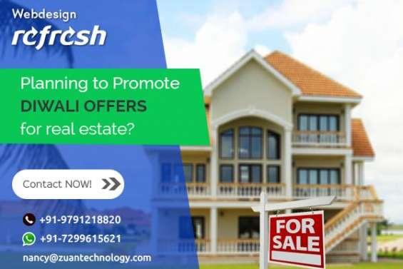 Reg: grand diwali offer for website design - real estate