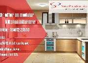Get flat 20 percent diwali offer on modern kitchen interior designs