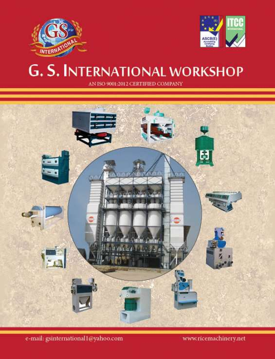 Paddy parboiling plant manufacturer