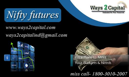 Nifty future tips : ways2capital