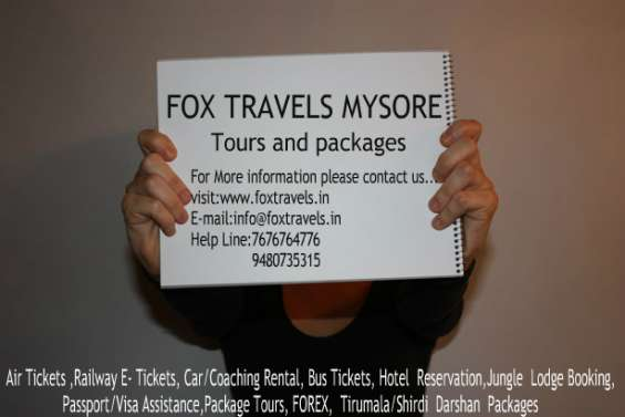 Weekends tour in mysore bangalore