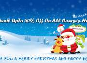 Christmas and New Year Discount Offers on Web Designing & Development Courses in Bangalore