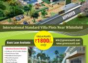 christmas offer on plots in bangalore
