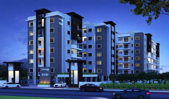 2bhk wonderful apartment in electronic city at rs 46 lakhs