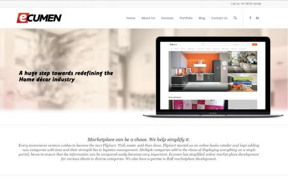 Choose ecumen for online marketplace development.