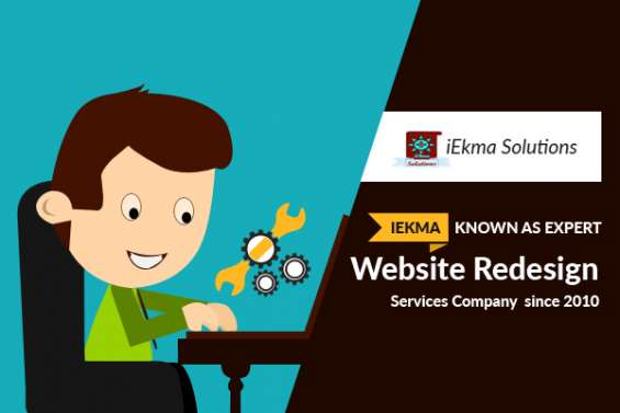 Iekma – known as expert website redesign company since 2010