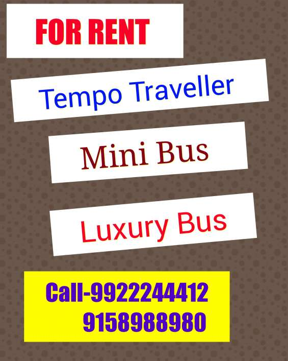 Tempo traveller on rent tempo traveller on hire