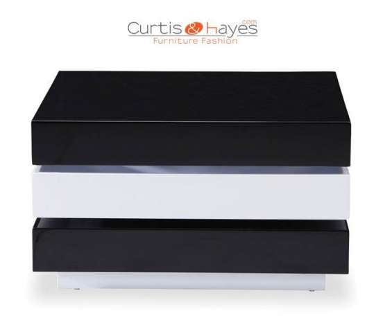 Buy eden modern coffee lounge table black online from curtis and hayes