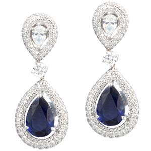 Silver earrings online shopping- for voguish appeal