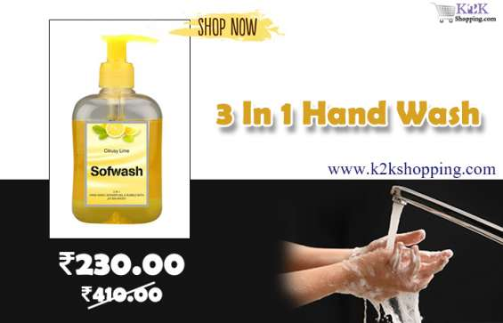 3 in 1 hand wash for sales only