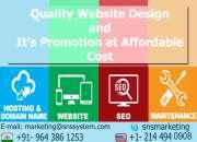 Website development by sns system pvt.ltd