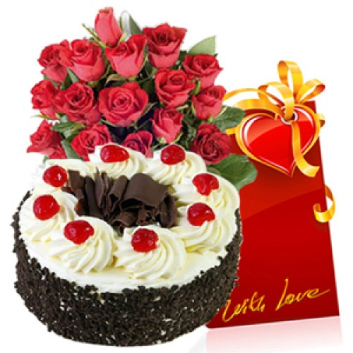 Cake,flower,card