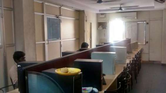 Hire a office space now - anna salai 4500sqft ?plug & play type