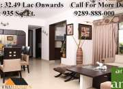 Get well designed flats in arihant arden@9289888000