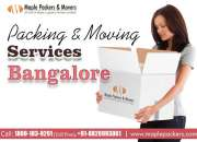 Maple packers and movers bangalore
