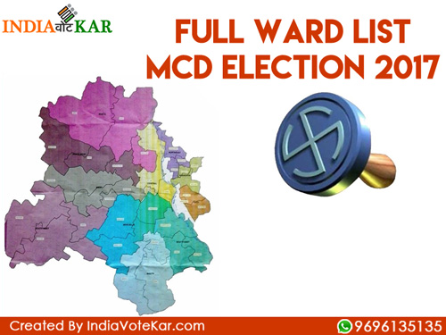 Full ward list mcd election 2017