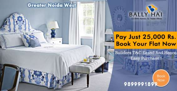 3bhk residential apartment/flat or properties in greater noida