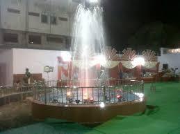 Garden musical fountain