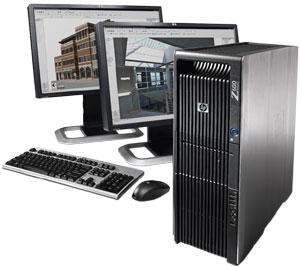Get better graphics workstation hp z600 rental coimbatore
