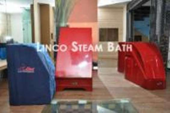 Portable steam bath cabin