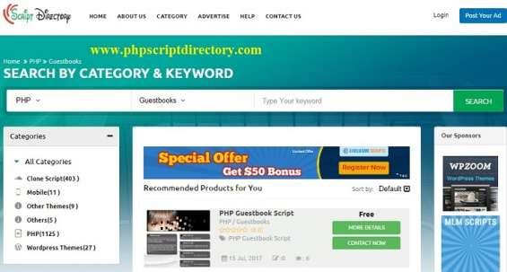 Guestbooks script | php guestbook script | guestbook script php