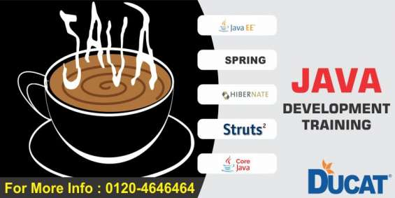 Need a java training come to ducat noida.