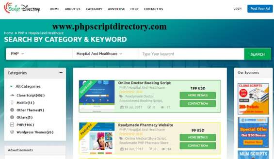 Doctor appointment booking software, php appointment booking script