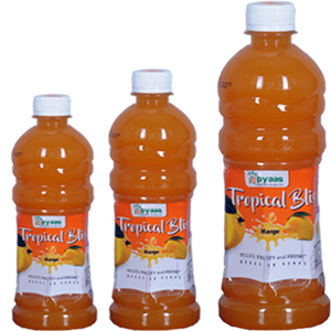 Tropical bliss mango juice manufacturer by apyaas in davangere karnataka