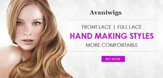 Men wigs filament patch - avaniwigs